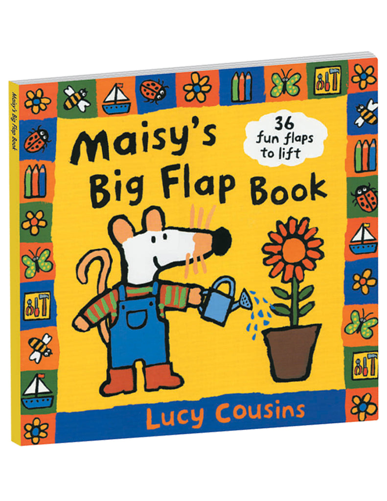 """Maisy's Big Flap Book"" Hardcover Book"