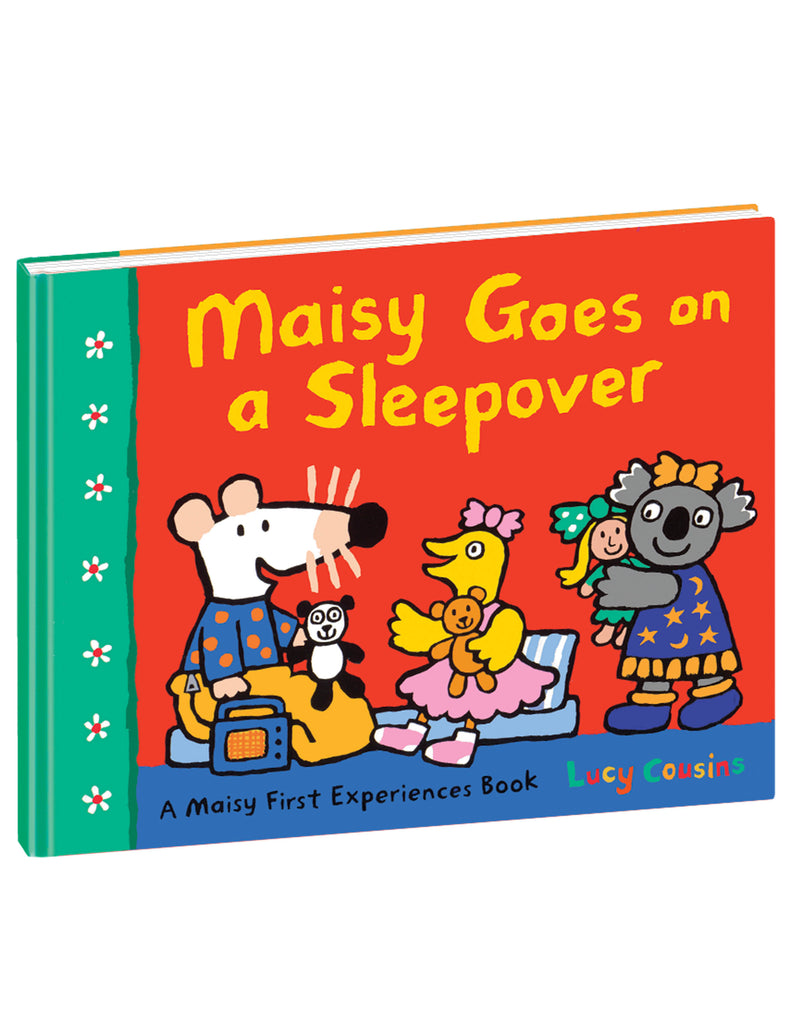 """Maisy Goes on a Sleepover"" Hardcover Book"
