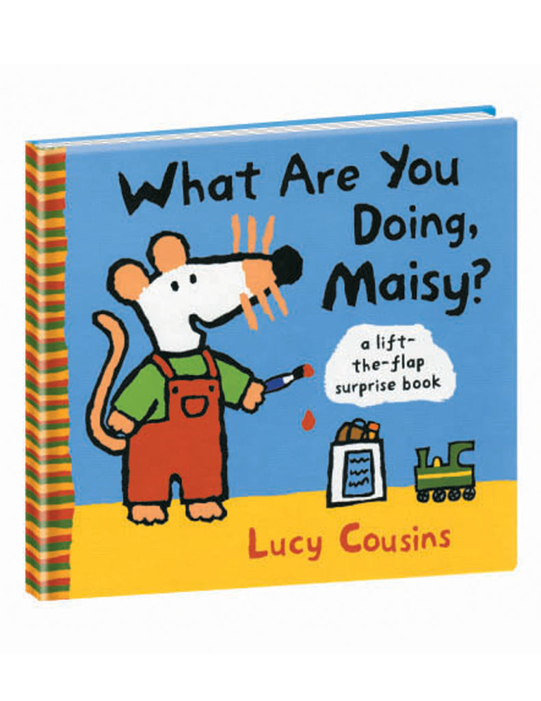 """What Are You Doing, Maisy?"" Hardcover Book"