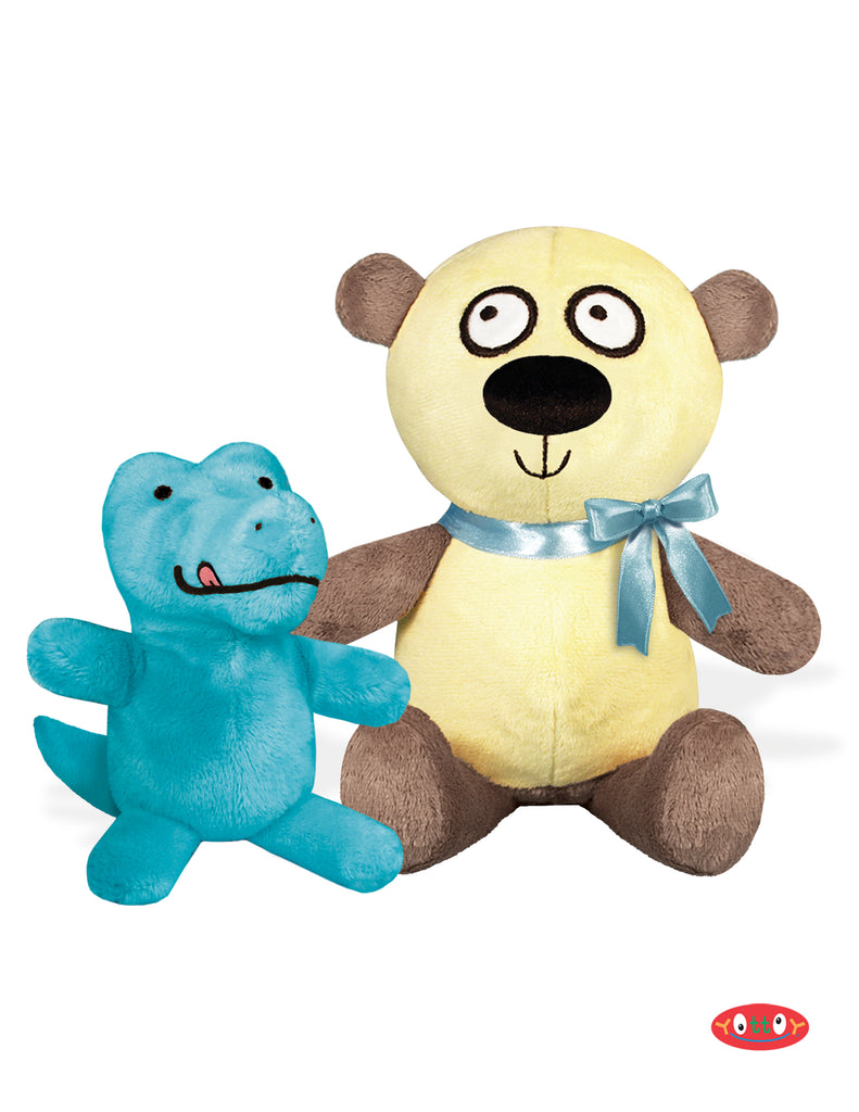 Alligator & Panda Soft Toy Pair