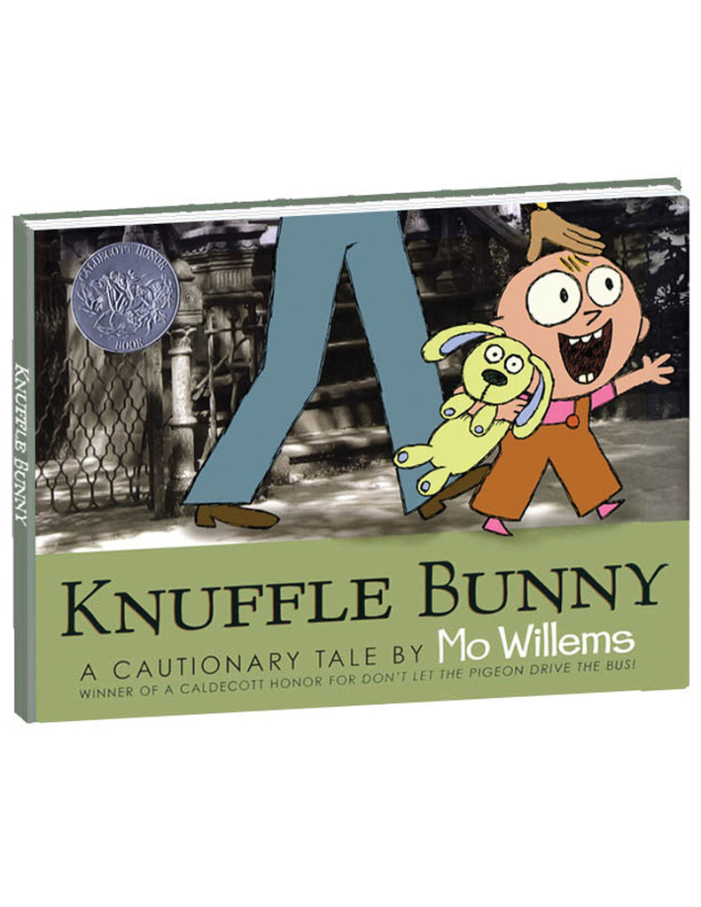 """Knuffle Bunny: A Cautionary Tale"" Hardcover Book"