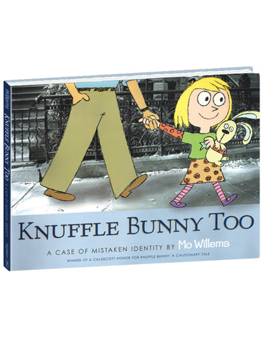 """Knuffle Bunny Free: An Unexpected Diversion"" Hardcover Book"