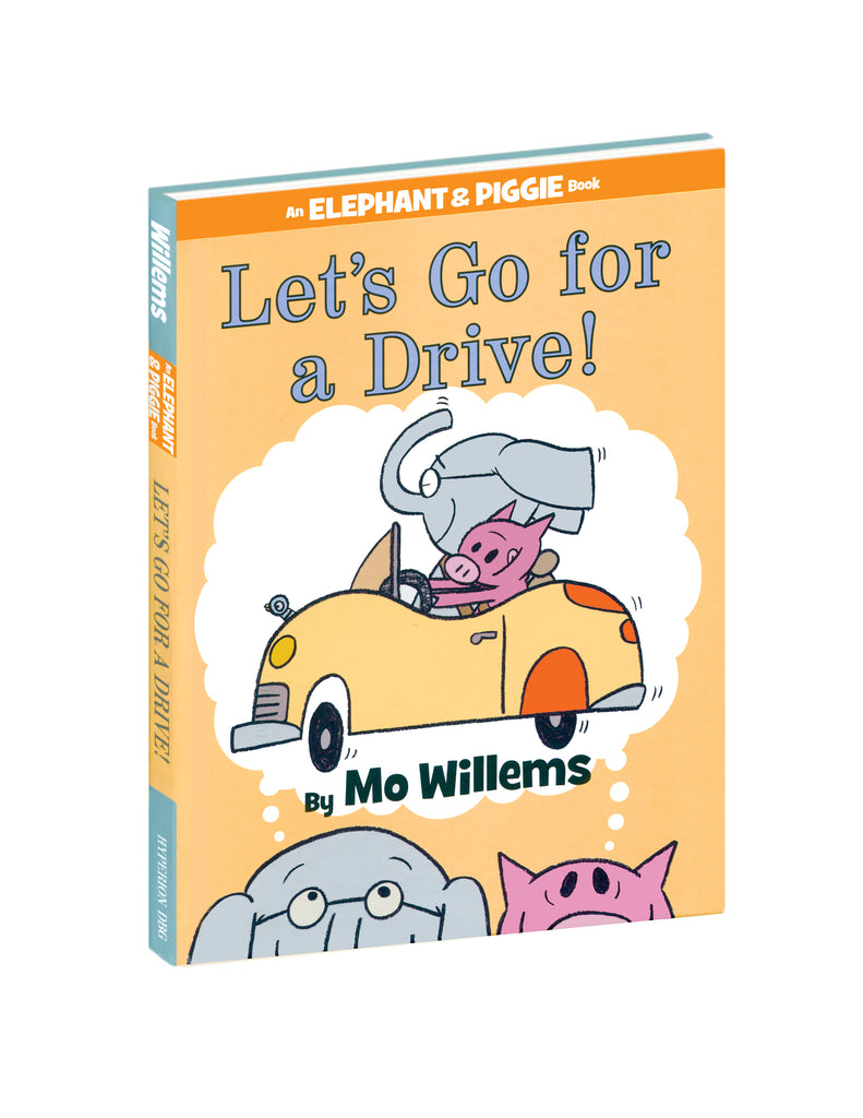 """Let's Go For a Drive!"" Hardcover Book"