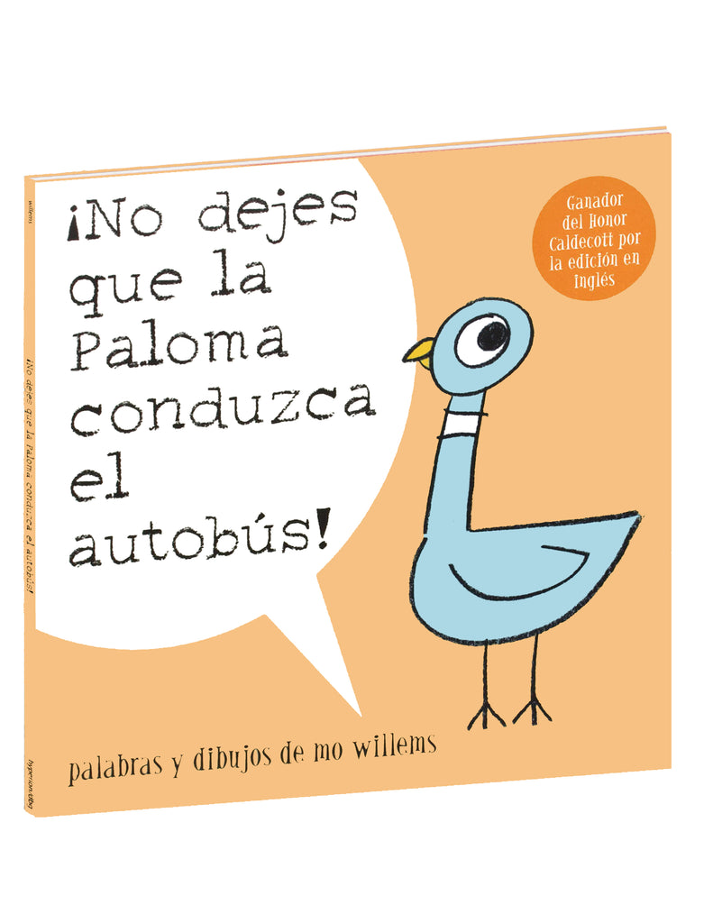 """Don't Let the Pigeon Drive the Bus!"" Spanish Translation - Paperback Book"