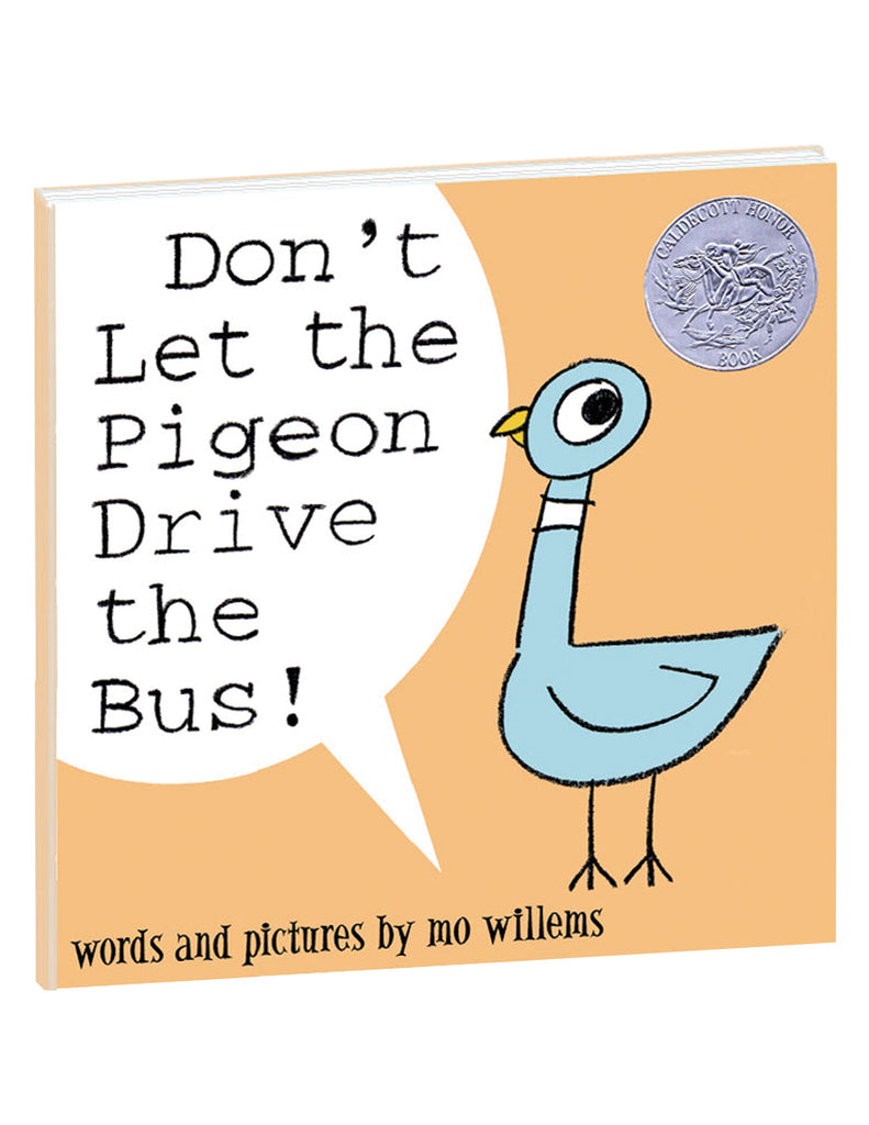 """Don't Let the Pigeon Drive the Bus!"" Hardcover Book"
