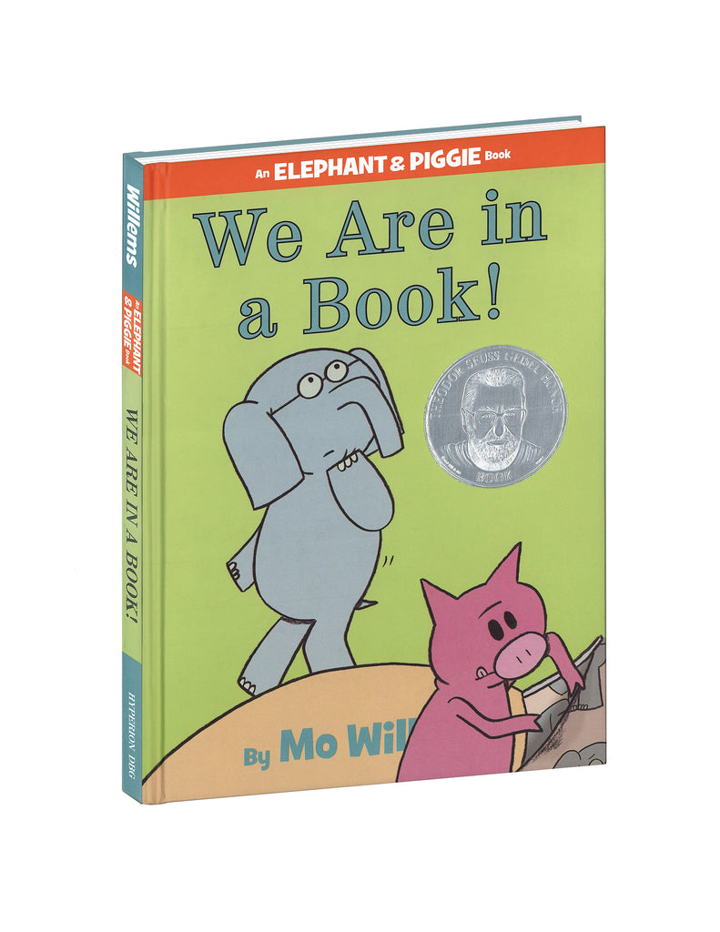 """We Are In A Book!"" Hardcover Book"