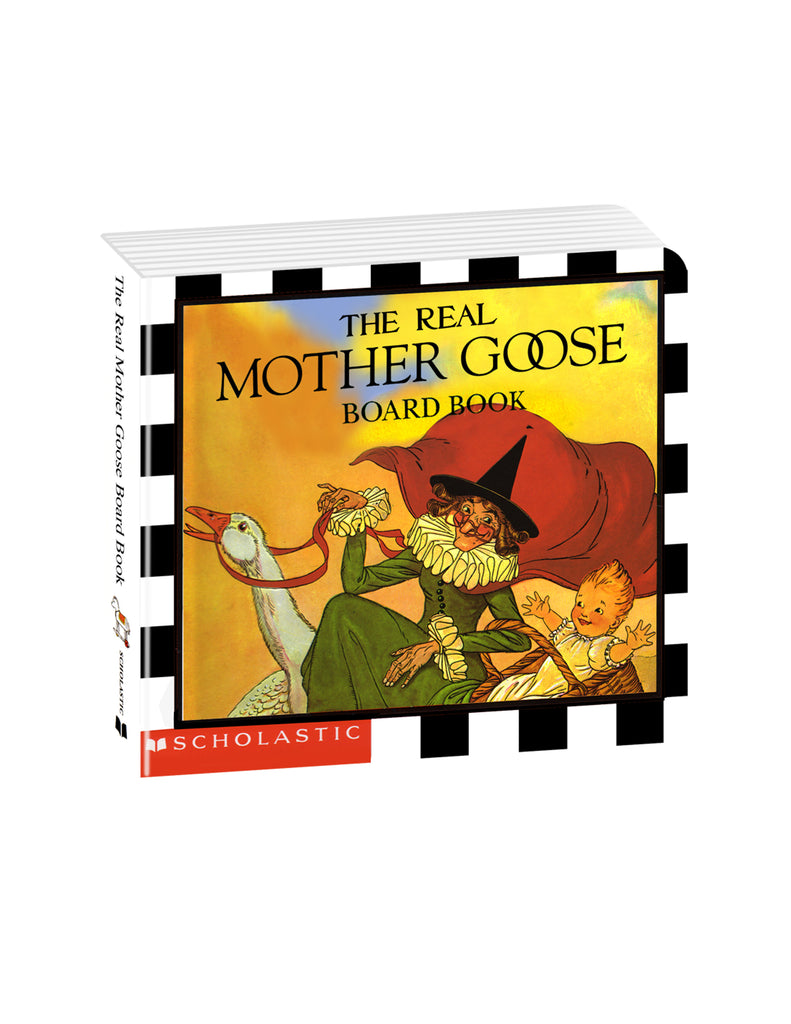 """The Real Mother Goose"" Board book"