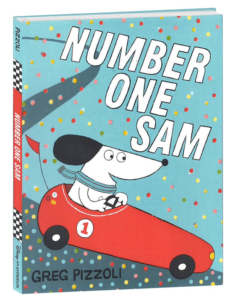 """Number One Sam"" Hardcover Book"
