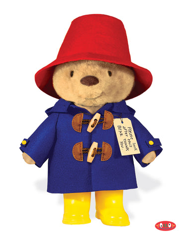 "Classic Paddington Bear 16"" Soft Toy with Suitcase"