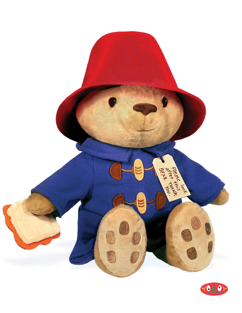 "Classic Seated Paddington 12"" Soft Toy"
