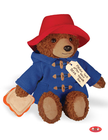 PJ Time Paddington Bear Soft Toy