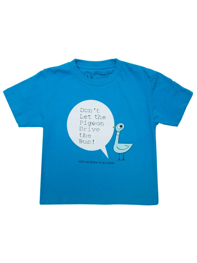 """Don't Let The Pigeon Drive The Bus!"" T-Shirt - Children's"