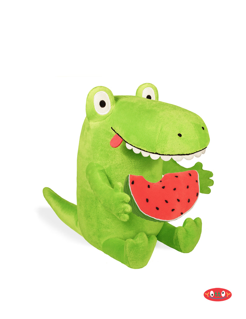 Kroc and Watermelon Soft Toy Pair