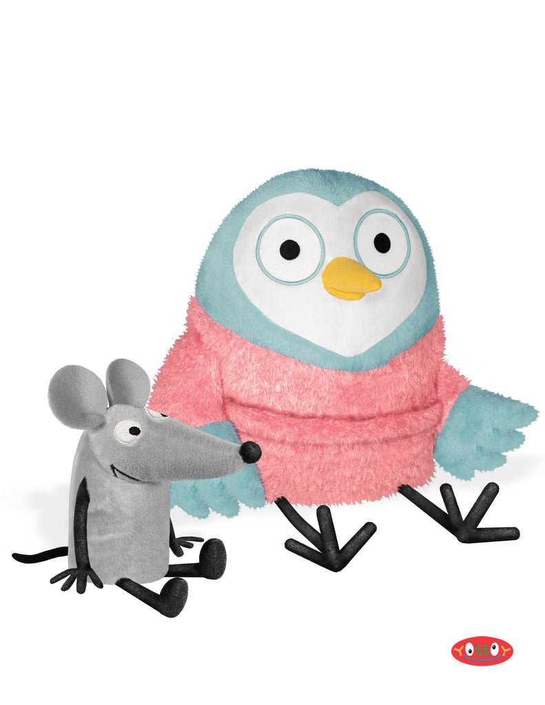 Owl and Noise Soft Toy Pair