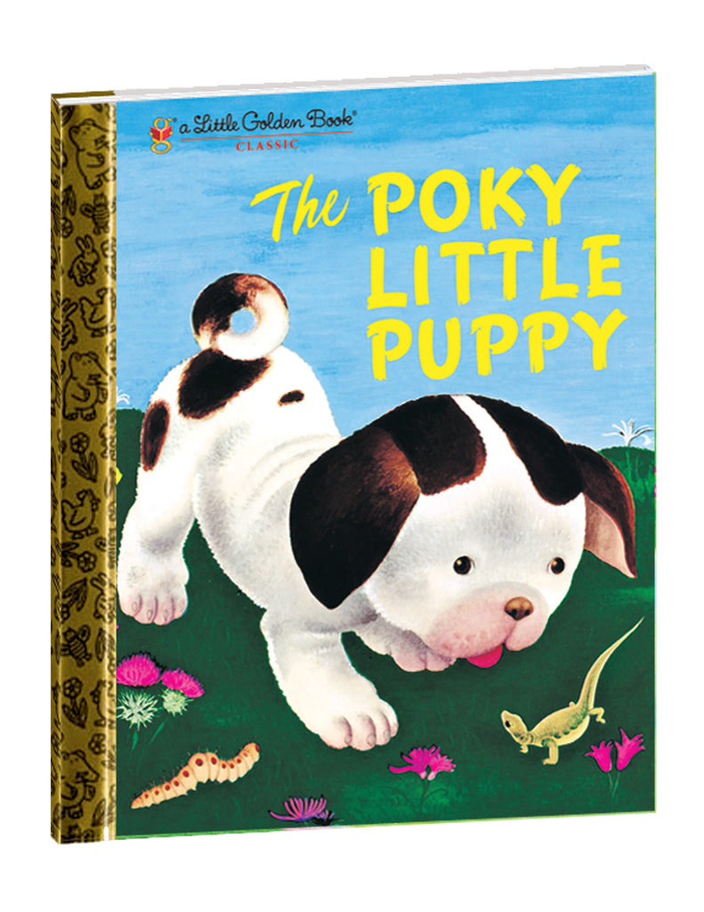 """The Poky Little Puppy"" Hardcover Book"