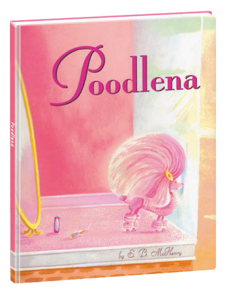 """Poodlena"" Hardcover Book"