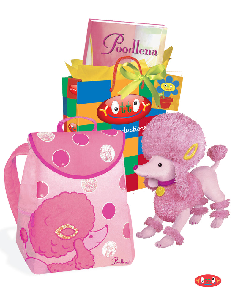 Poodlena Perfectly in Pink Gift Set