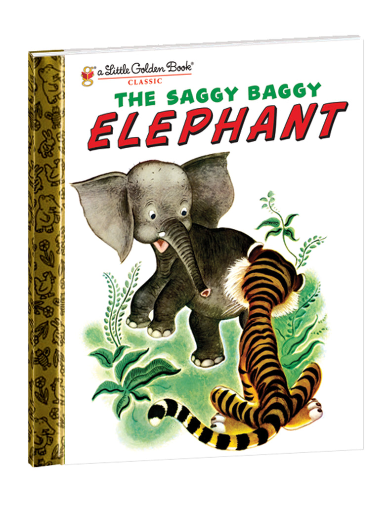 """The Saggy Baggy Elephant"" Hardcover Book"