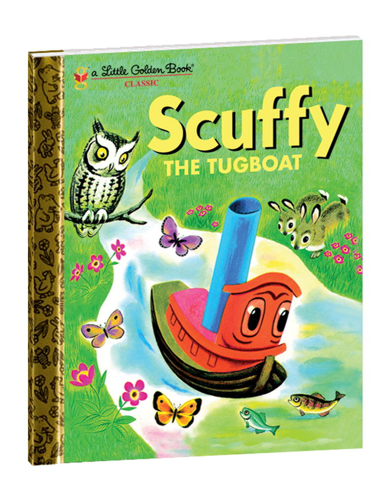 """Scuffy The Tugboat"" Hardcover Book"