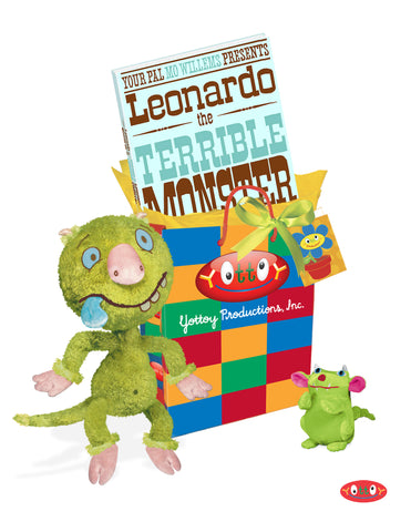 """Leonardo the Terrible Monster"" Hardcover Book"