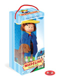 Madeline Poseable Doll with Genevieve Soft Toy in Take-Along Package