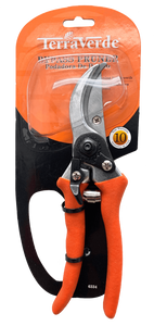 "8"" Bypass Pruner with orange grip"