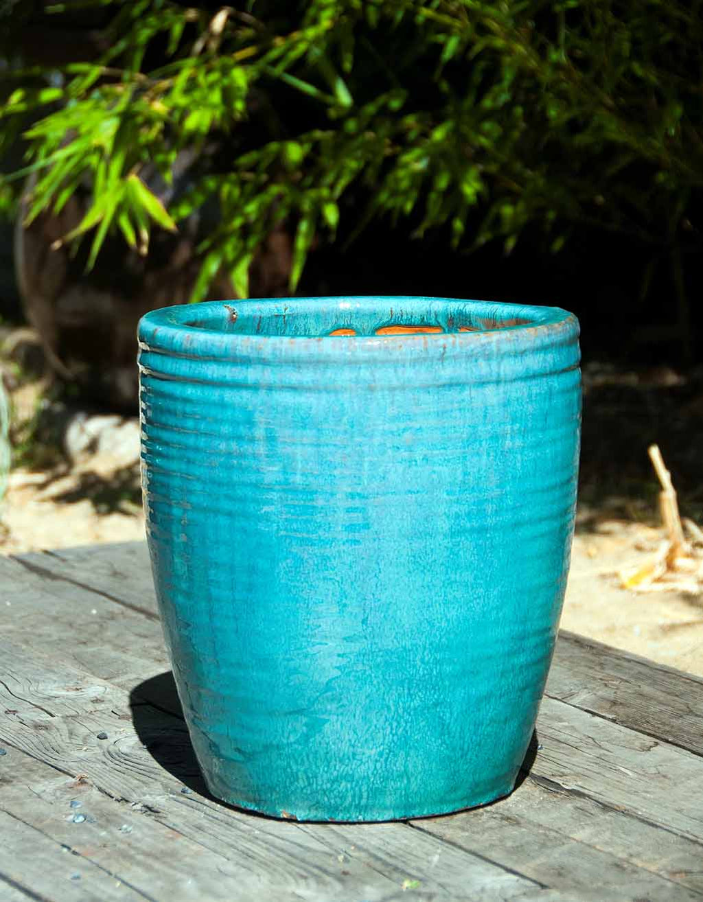 Cabana Planter in Turquoise