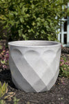 Diamond Planter White