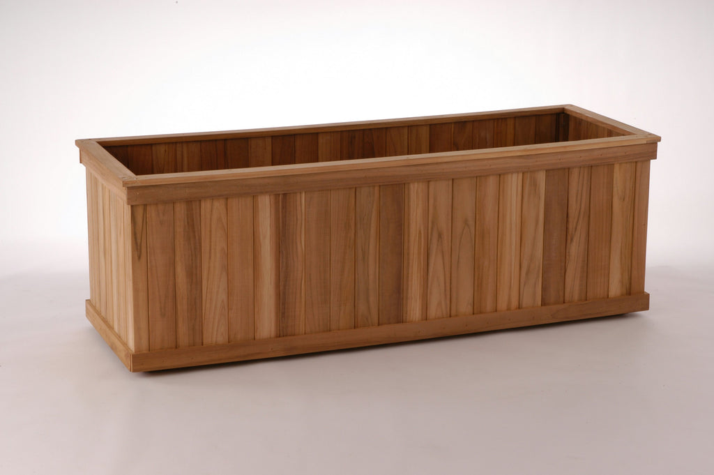 Teak Rectangle Planter