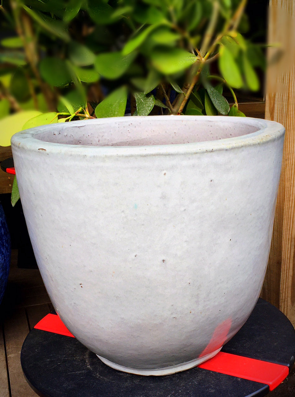 Sem Planter in Antique White
