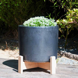 Shore Light Planter Gunmetal