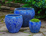 Symi Planter in Angkor Blue