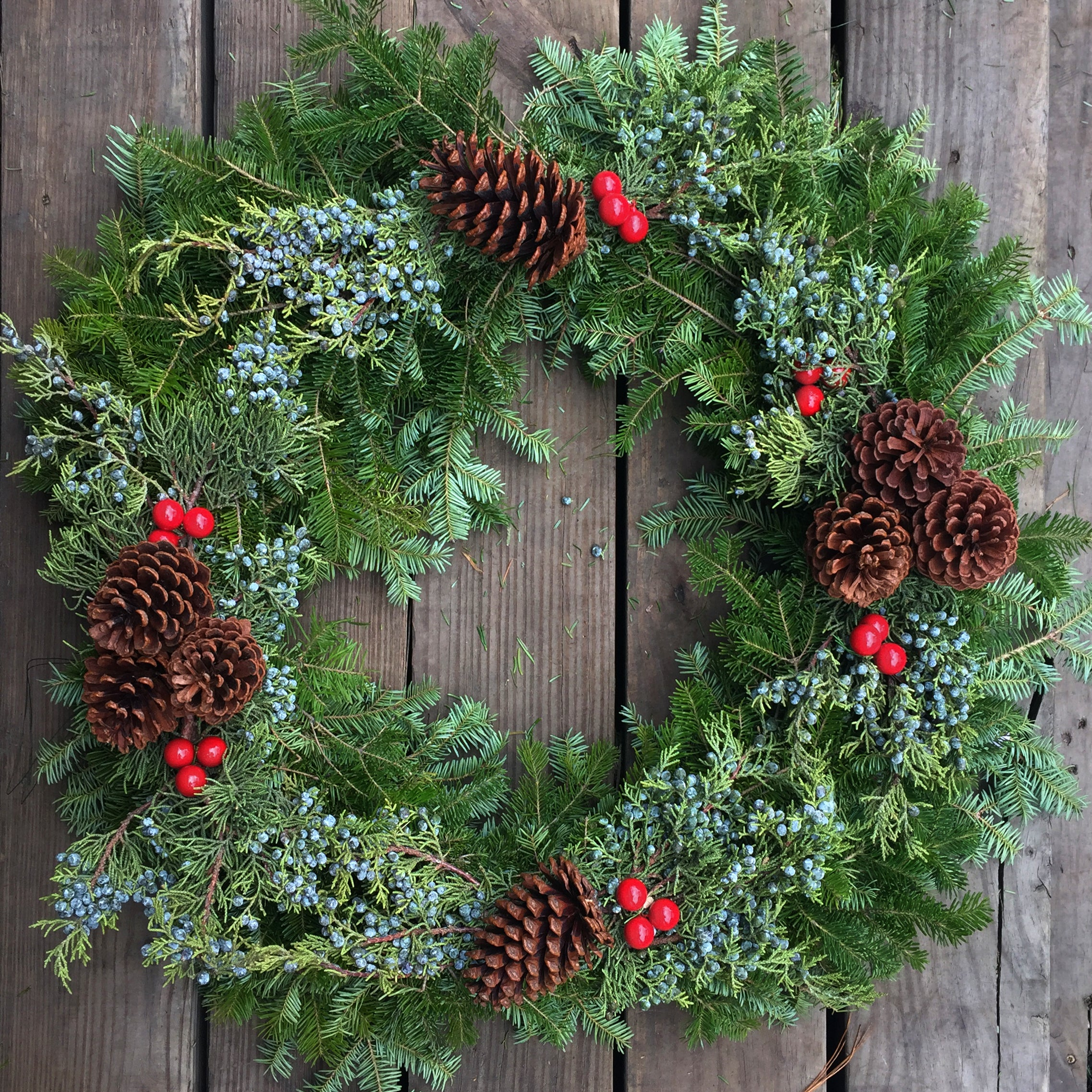 """Au Naturale"" Wreath"
