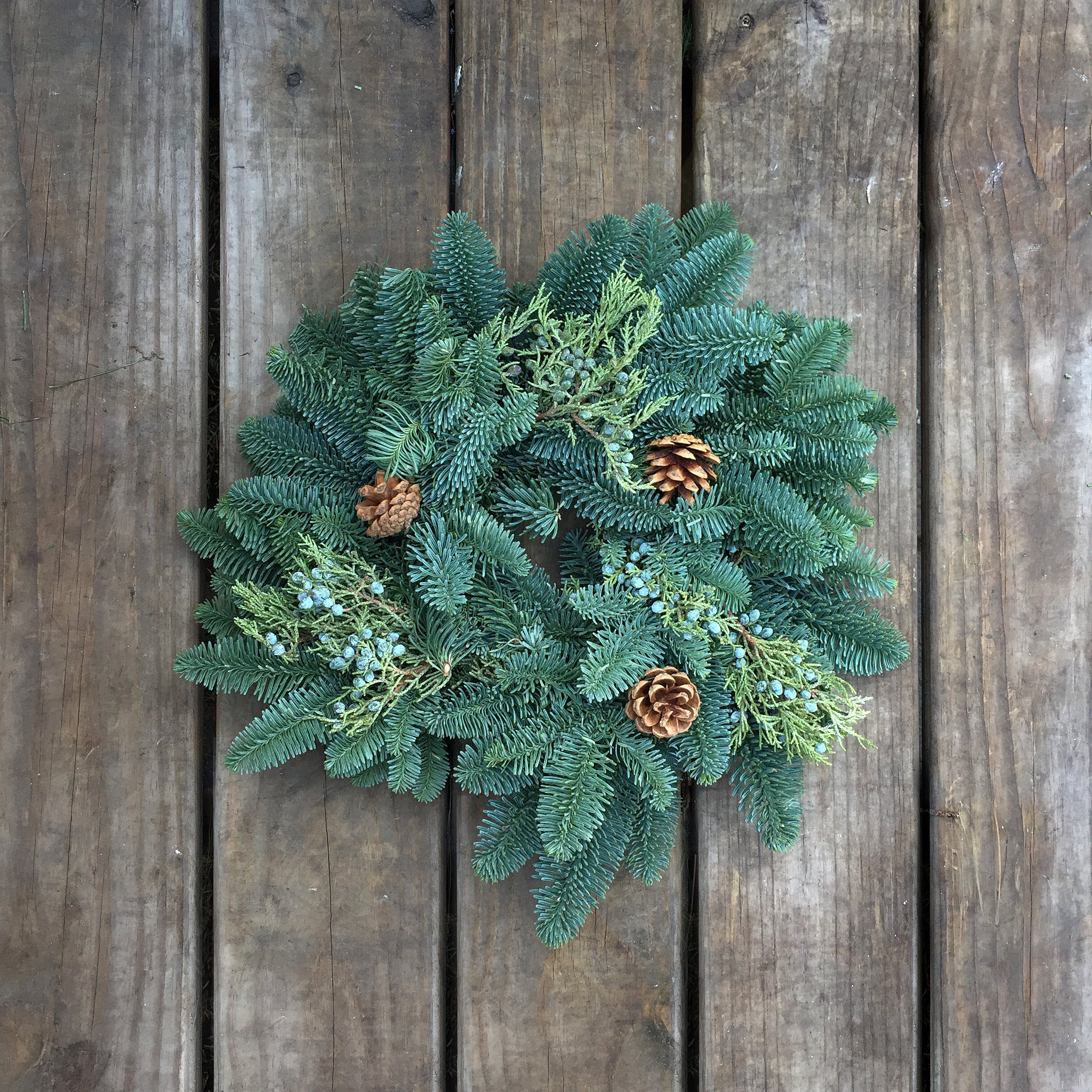 """The Noble Mini"" Wreath"