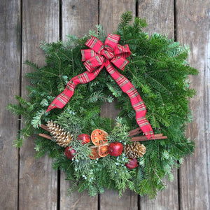 """Holiday Spice"" Wreath"