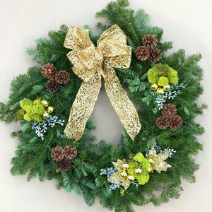 """Lucky Luxe"" Wreath"