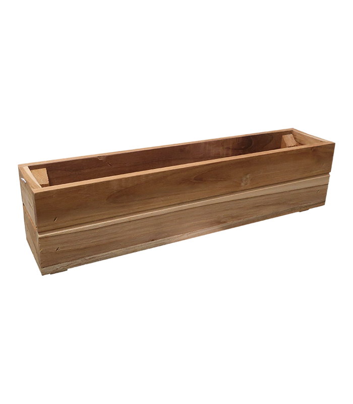 Teak Window Box Small
