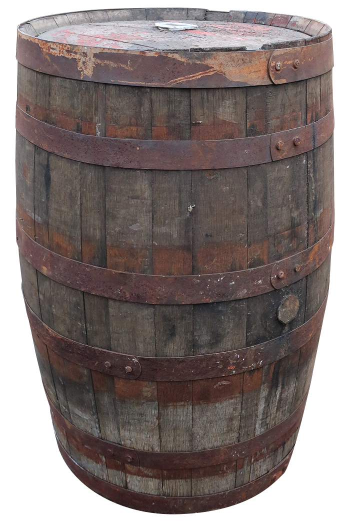 Full Whiskey Barrel Planter