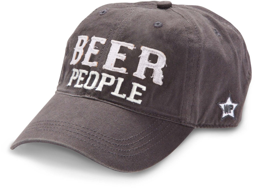 "Gray ""Beer People"" Hat"