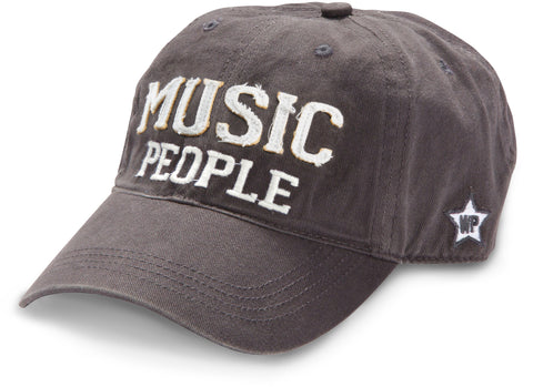 "Gray ""Music People"" Hat"