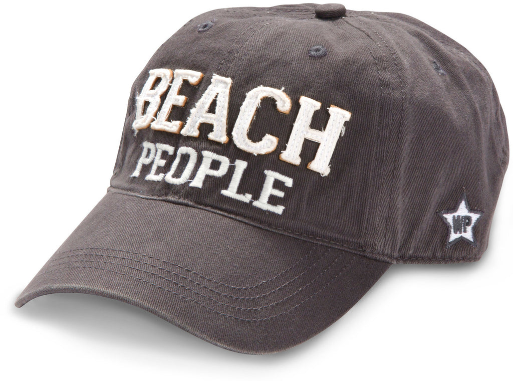 "Gray ""Beach People"" Hat"