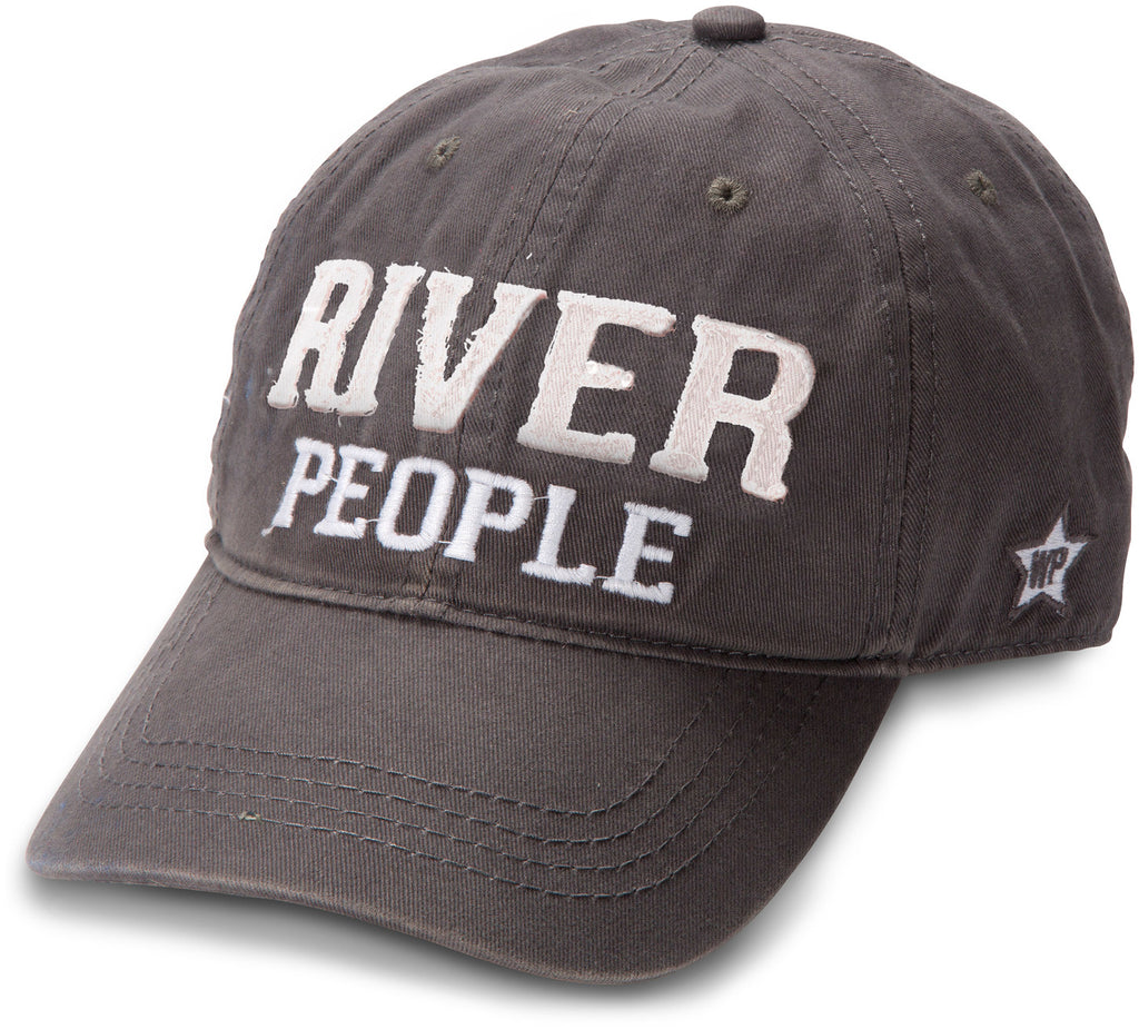 "Gray ""River People"" Hat"