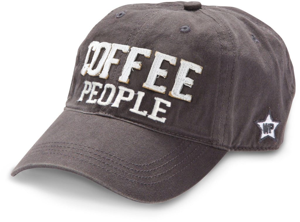 "Gray ""Coffee People"" Hat"