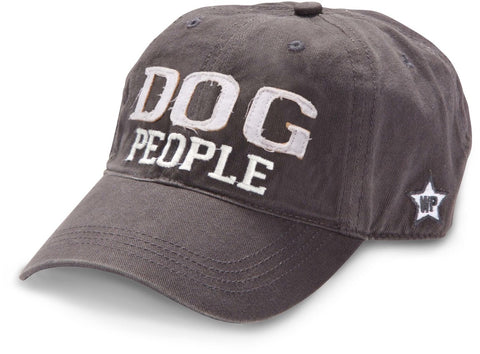 "Gray ""Dog People"" Hat"