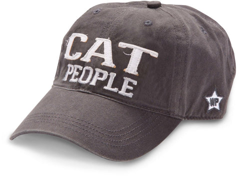 "Gray ""Cat People"" Hat"