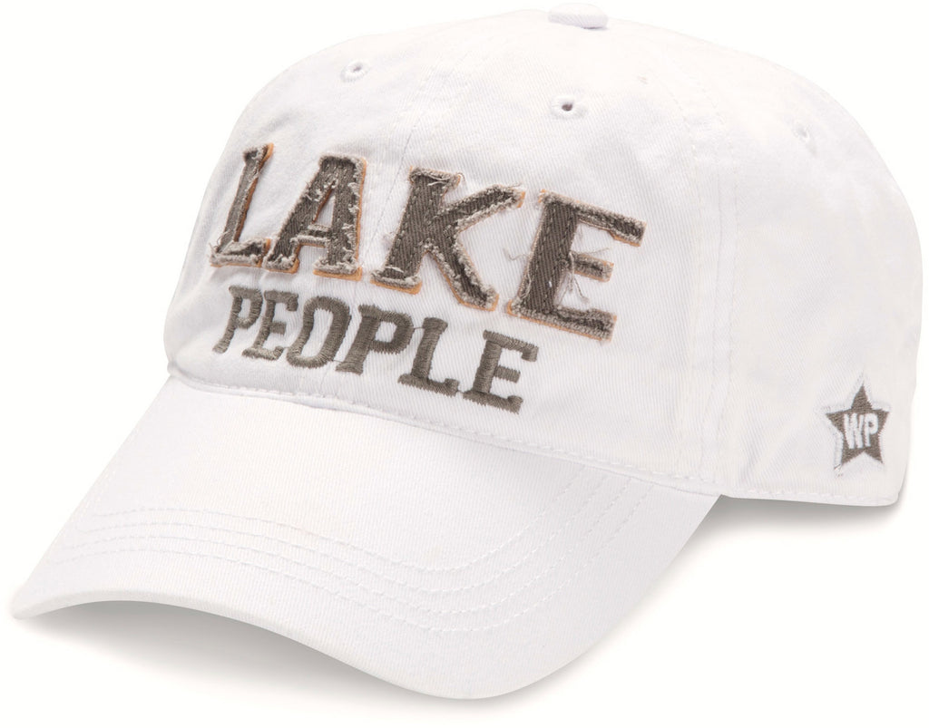 "White ""Lake People"" Hat"