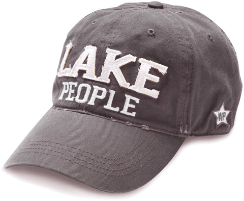 "Gray ""Lake People"" Hat"