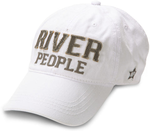 "White ""River People"" Hat"