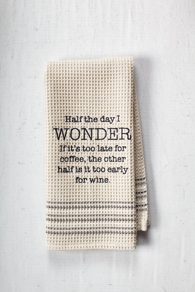 """Wonder"" Dishtowel"