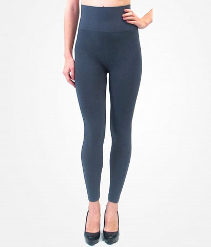 Charcoal High-Waisted Leggings
